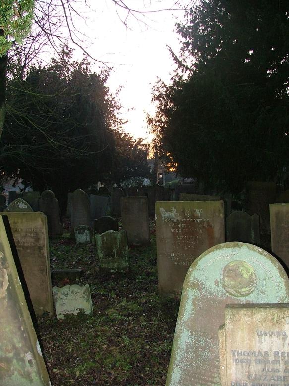 Gravestones in Youlgreave