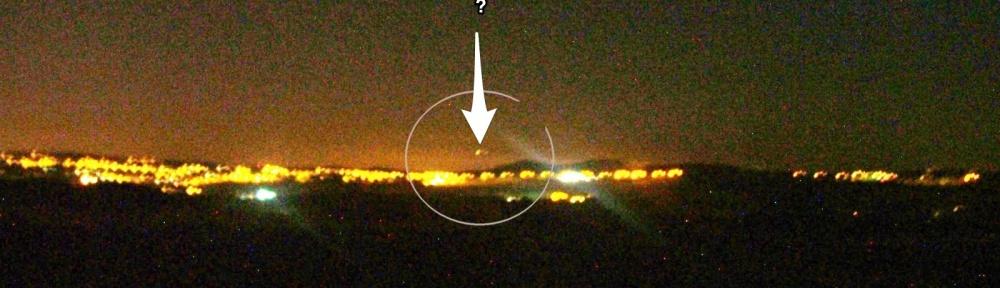 UFO Sighting Staffordshire