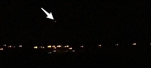 UFO over Newcastle Staffs