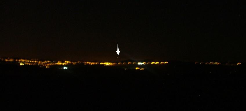 UFO over Knutton