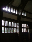 Glasswork at Little Moreton Hall
