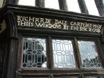 Tudor Window at Little Moreton Hall