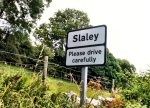 Slaley Sign