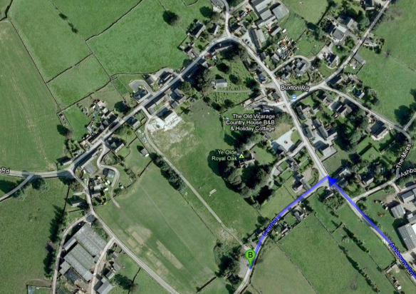 Where to Park in Wetton