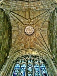Roof Tideswell Church