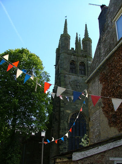 Tideswell Church - Bunting