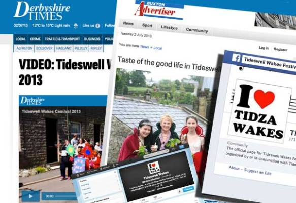 Tideswell Wakes Publicity