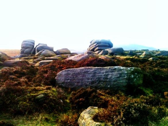 Boulders on Hathersage Moor