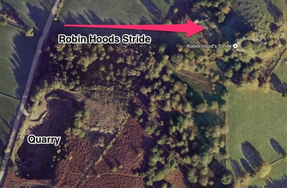 Robin hood's Stride or Mock Beggars Hall
