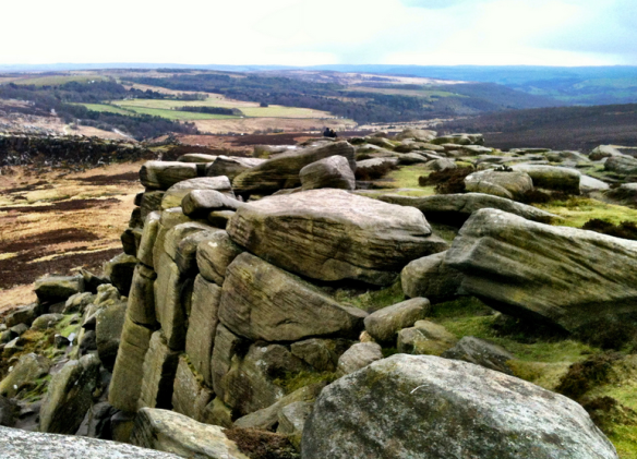 Higger Tor has some imposing views