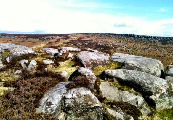 Burbage Edge in the Eastern Moors.