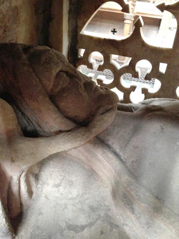 Stone Cadaver with Angel