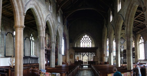 St John the Baptist church - Nave