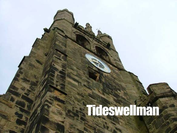 Tideswell Church Clock