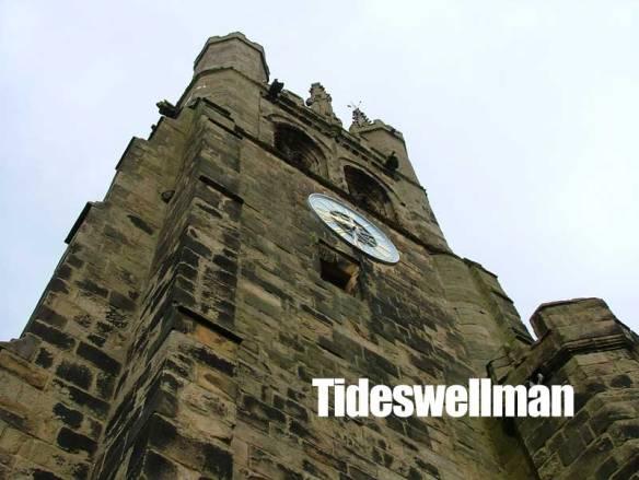 Tideswell Church Clock