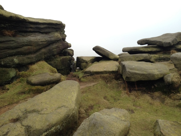 Stanage Edge Colours