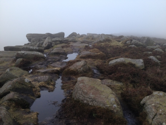 Low Cloud on Stanage Edge